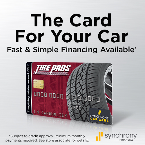 Tire Pros Financing Available at Hernandez Tire Pros in Chula Vista, CA