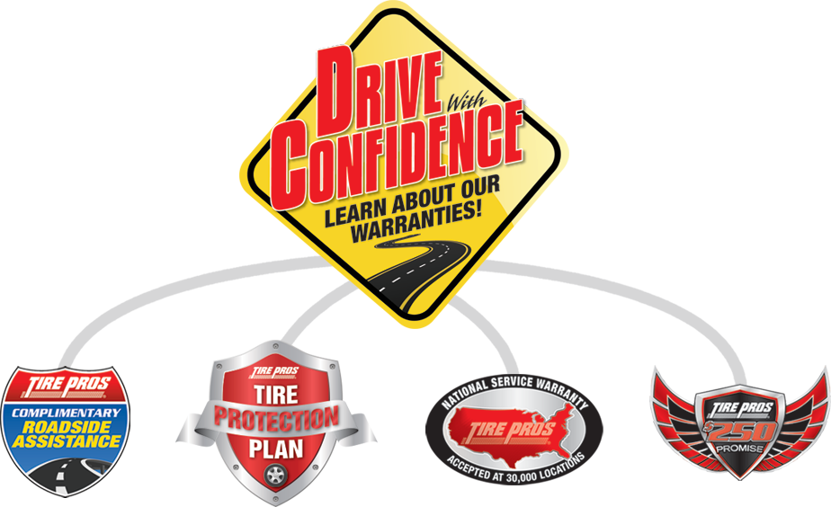 Tire Pros Drive With Confidence Guarantee at Hernandez Tire Pros in Chula Vista, CA